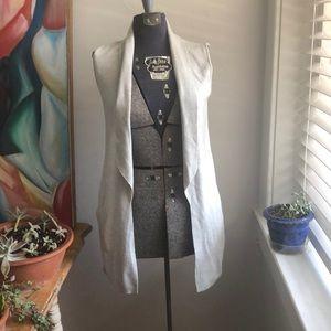 💎 Ted Baker Long Grey Sweater Vest